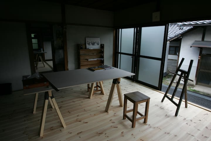 Our atelier is traditional house of Japan - Iida-shi - Maison