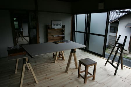 Our atelier is traditional house of Japan - Iida-shi - Casa
