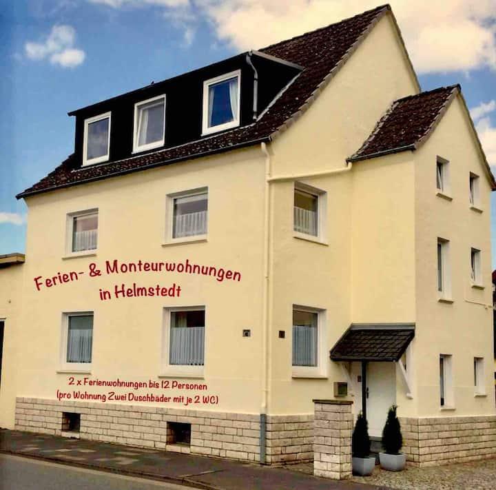 FeWo Helmstedt (ZWEI (2) Wohnungen für  2-12 Pers)