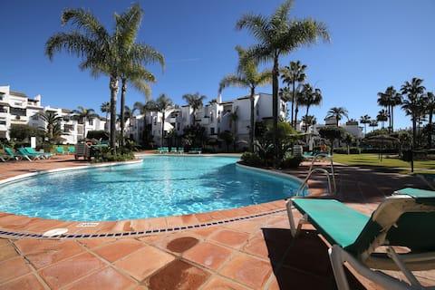 ❤️⭐ Entspannender Strandkomplex mit Swimmingpool