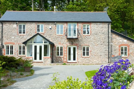 Luxury Welsh Barn Conversion - Trelawnyd - Dom