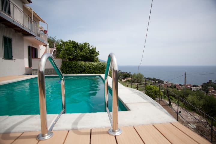 Cà Mè - Apartment with pool