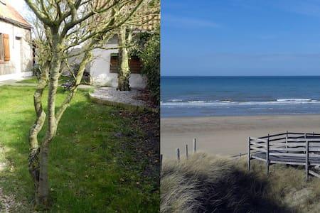 Maison de campagne à 700 mètres de la plage. - Oye-Plage - Dom