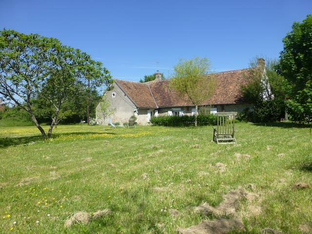 Pretty farmhouse 2 h from Paris ! - Annay - Casa