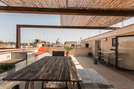 Cozy Vatican Loft  Amazing Panorama