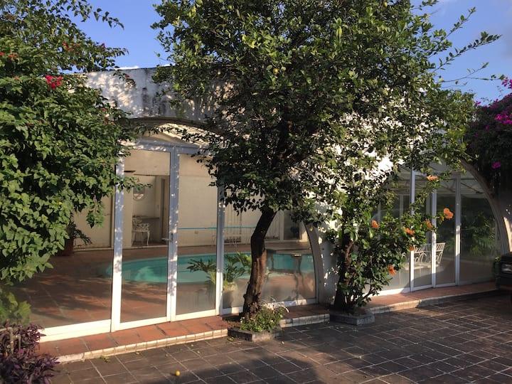 Casa en Atlixco para descanso y turismo.