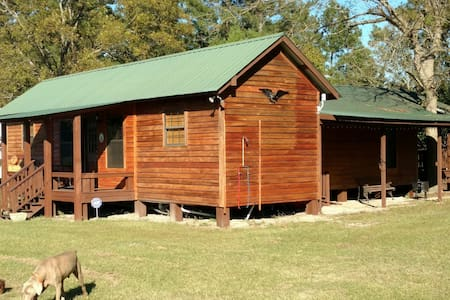 "Freeman Farm ""Love Shack"" Bunkhouse for 9 - Statesboro"