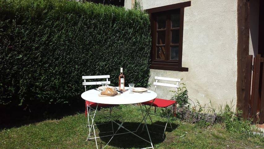 Logement jardin clos Montségur - Montségur