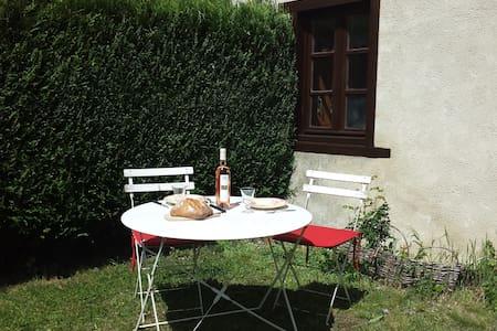 Logement jardin clos Montségur - Montségur - House