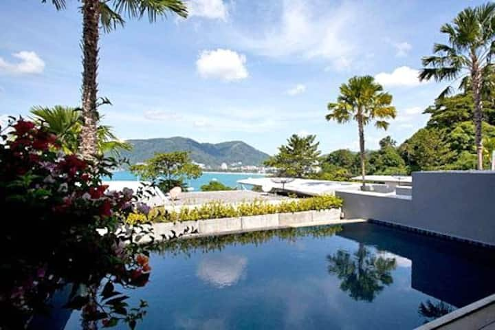 Atika Villa 1 oceanfront pool villa