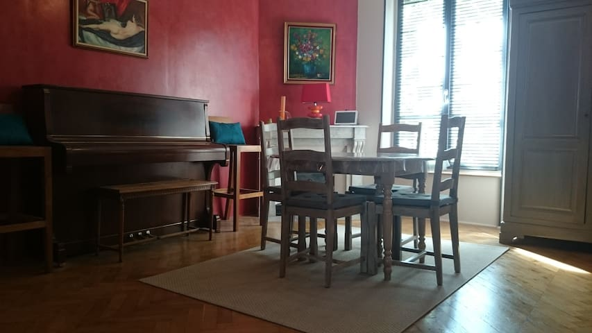 Apartment of 90 m² for 5 people. - Lyon - Apartemen