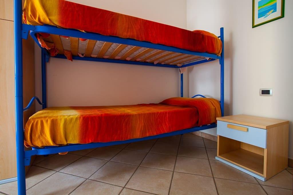 Camera letto a castello - Tipo A