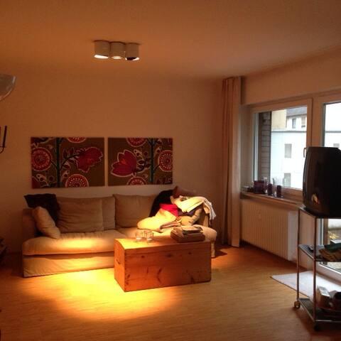 ruhige 2 Zimmer Wohnung - Nürnberg - Appartamento