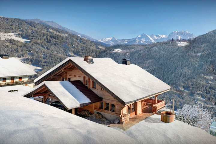 OVO NETWORK - Vast chalet with hot tub, sauna, terrace and garden - Les Clefs