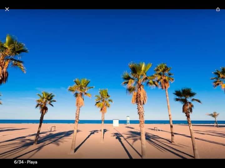 APARTAMENTO CON VISTAS AL MAR Playa de Gandia