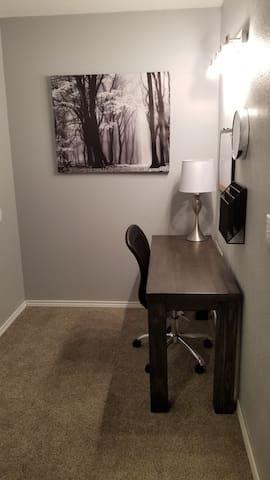 Second Floor Bedroom Study Area