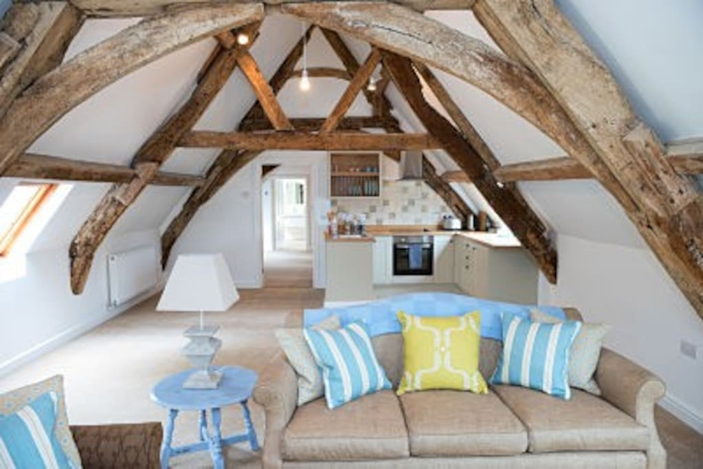 The Hayloft Living Area