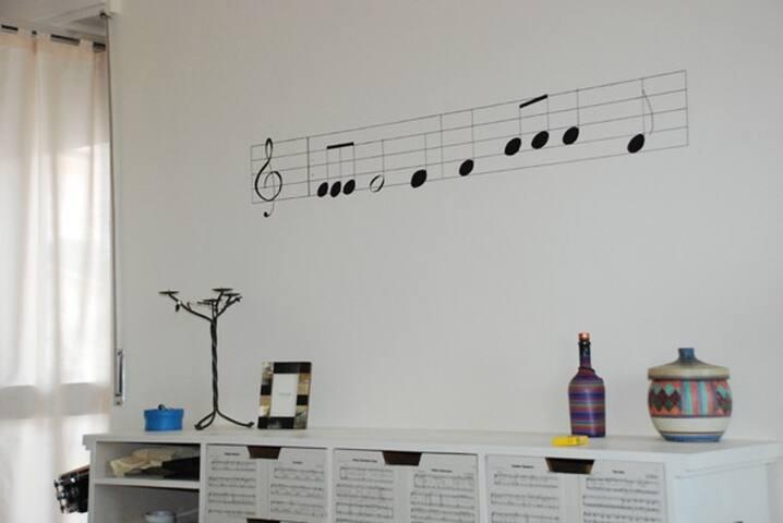 """appartamento """"della musica"""" - Acqui Terme - Apartment"""