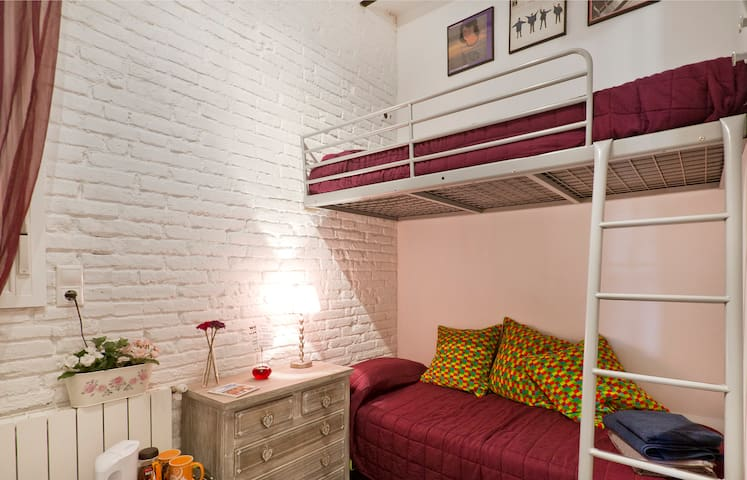 TwinRoom w/Private bath -Near Beach - Barcelona
