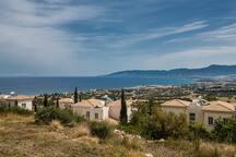 Amazing views from Villa Abbie