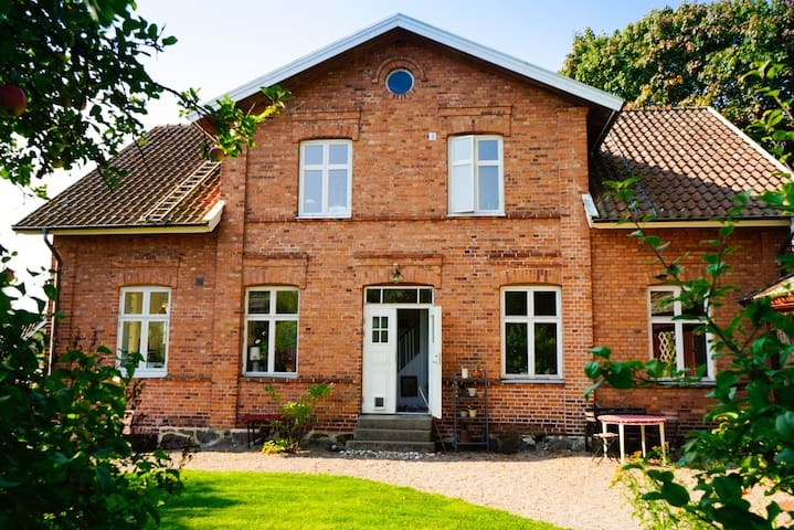 Large family home in beautiful village