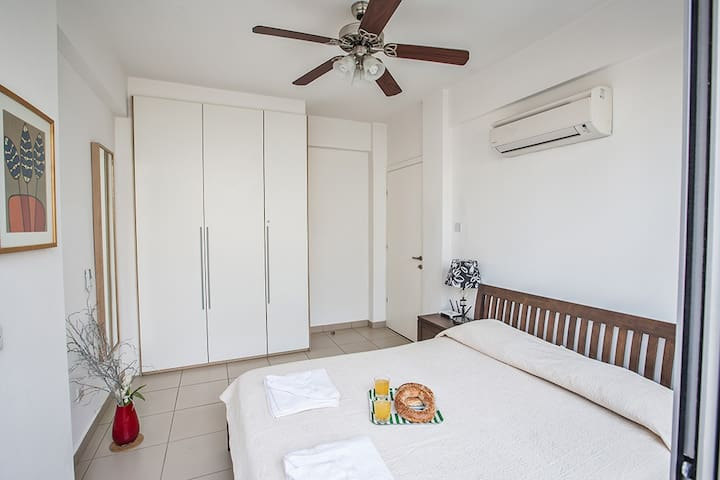 Bedroom 3 on ground floor with double bed
