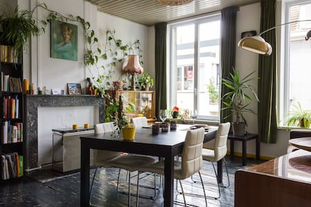 Central shared apartment w/ terrace - Wohnung