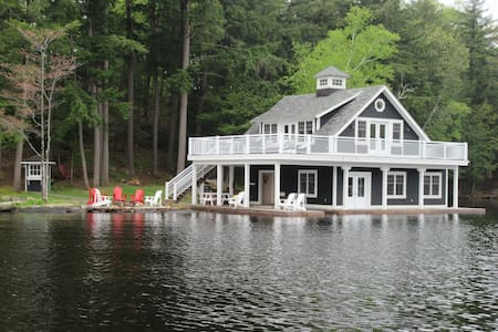 Lake Muskoka Boathouse - Milford Bay - Dům