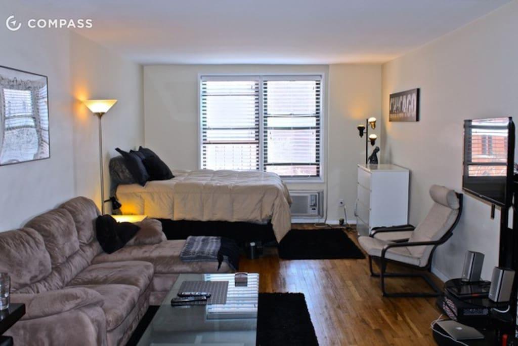 West village studio appartamenti in affitto a new york for Affitto monolocale new york