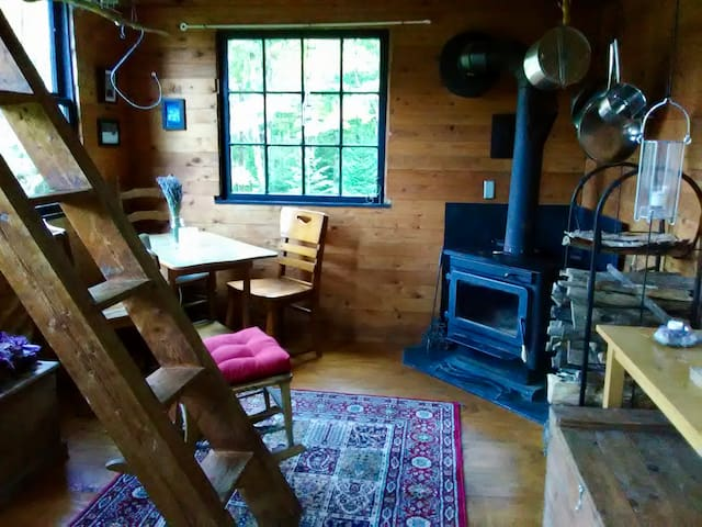 Lake Willoughby Forest Orchard Cabin