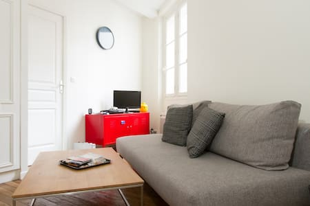 Nice and calm flat in Canal Saint Martin (10th) - Paris
