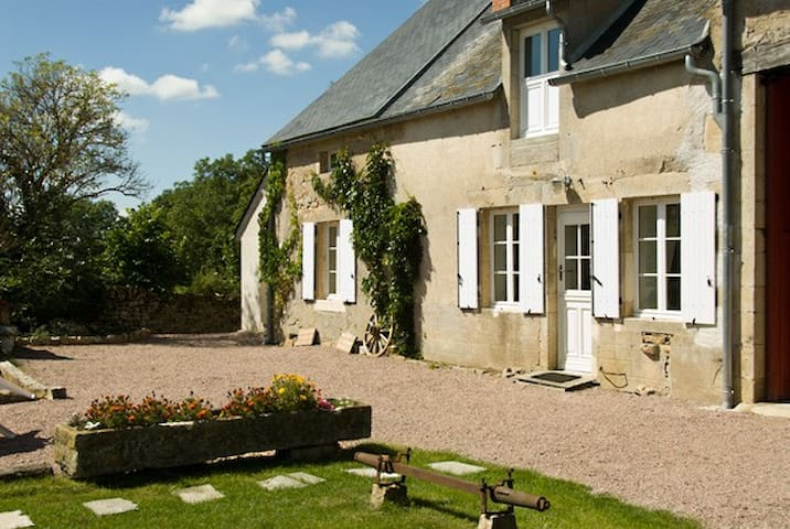Le Sureau, cottage for naturists - Champallement - House