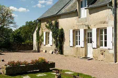 Le Sureau, cottage for naturists - Champallement - Talo