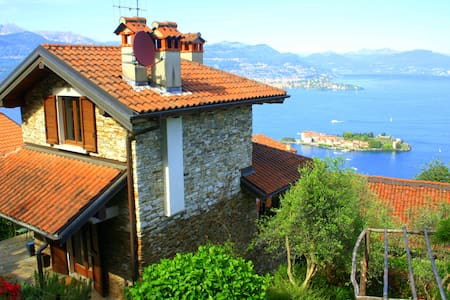 Amazing house with stunning views - Stresa