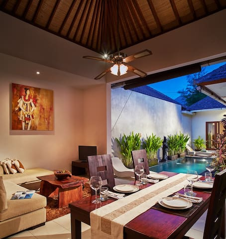 1BR Villa Daily/Monthly Disc Seminyak/Oberoi 7