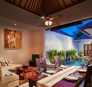 Bella 1BR Private Villa at Seminyak - Kuta