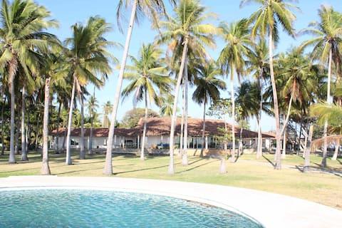 "Casa a orilla de Playa. ""El Zapotal"""
