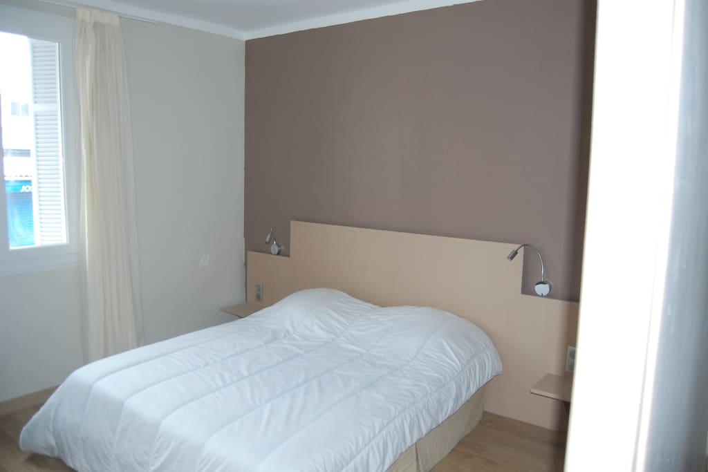 Chambre 1 lit 160X200 Wi Fi + TV