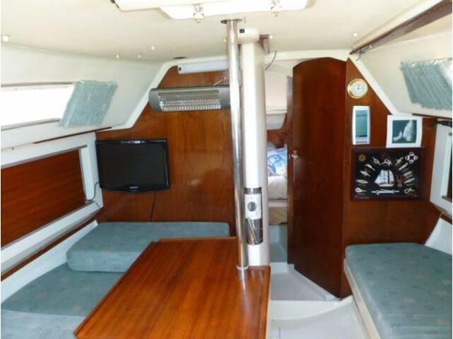 voilier de 9 metres au minimes - La Rochelle - Barco