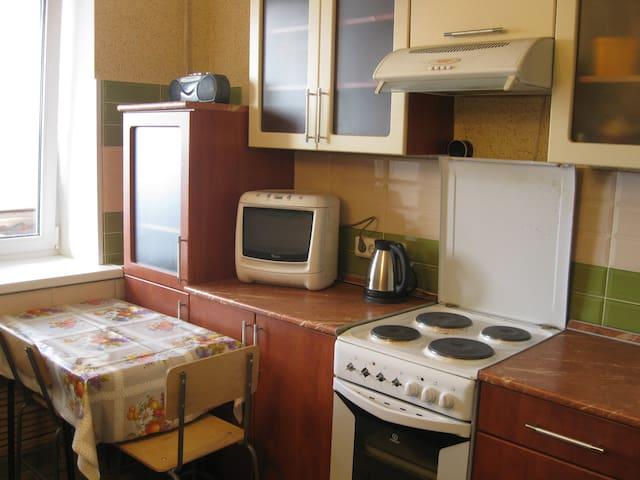 Уютная квартира, свежий ремонт, полная обстановка - Voronez - Daire