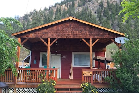 A Cabin in the Similkameen Valley - Hedley
