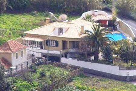large villa with pool ,and sea view - Madeira