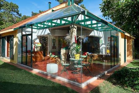 Villa Biggod, garden sea and golf - カスカイス
