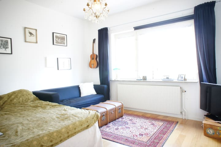 Cozy one-room apartment, Hägersten - Stockholm - Apartmen
