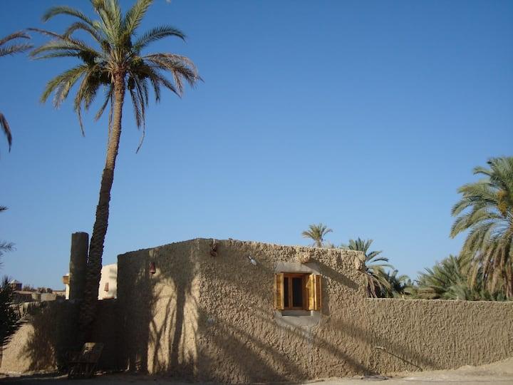 Peaceful desert home in Siwa Oasis