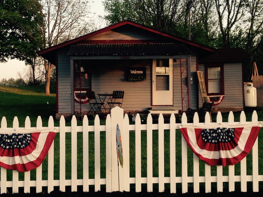 The Pultneyville Harbor Office Cottage!