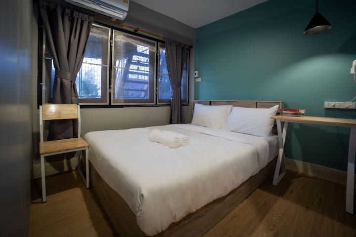Mind day Hostel Khaosan Double Bed Private Room 1