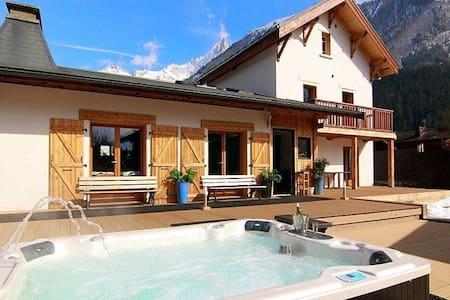 Chalet Atlantis BnB Doublebedroom Ensuite bathroom - Chamonix-Mont-Blanc