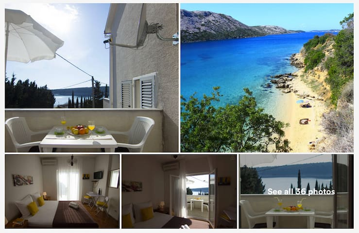 Private room/kitchen/50 m from sea