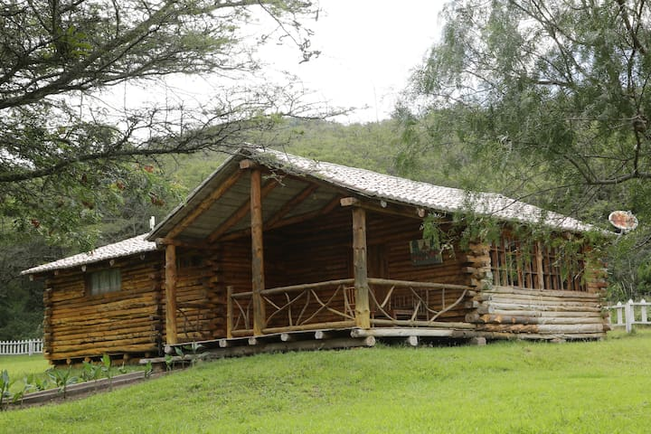 Wood Cabins near Quito